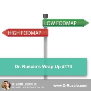 Dr. Ruscio's Wrap-Up #174