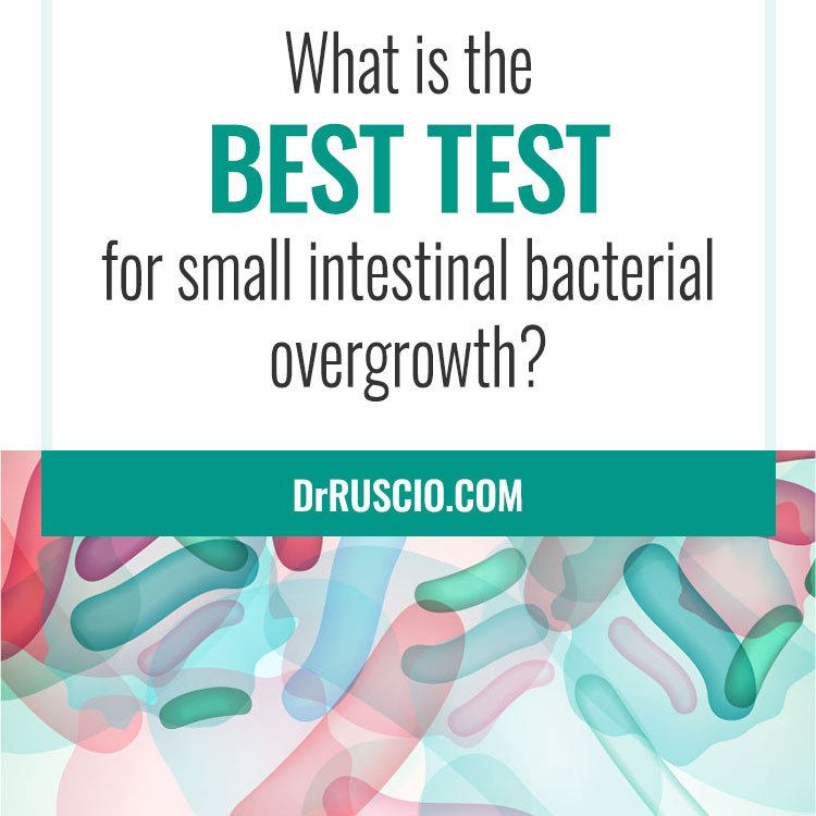 What is the best test for small intestinal bacterial overgrowth?