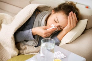 cold or chest infection