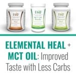 New Formula for Elemental Heal: Improved Taste with Less Carbs