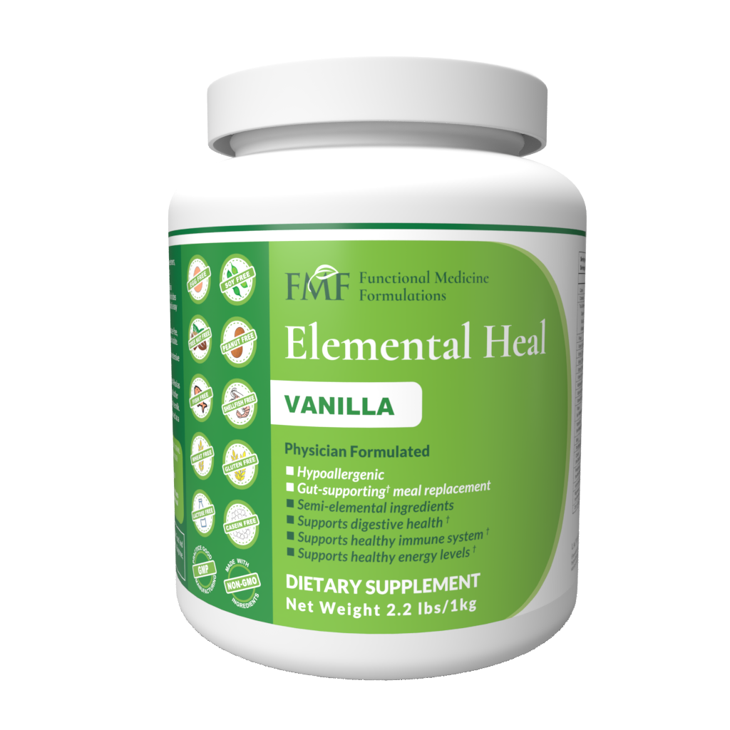 Probiotics Work BETTER if You Have SIBO & An Elemental Diet - Case Study - Elemental Heal Vanilla New 1