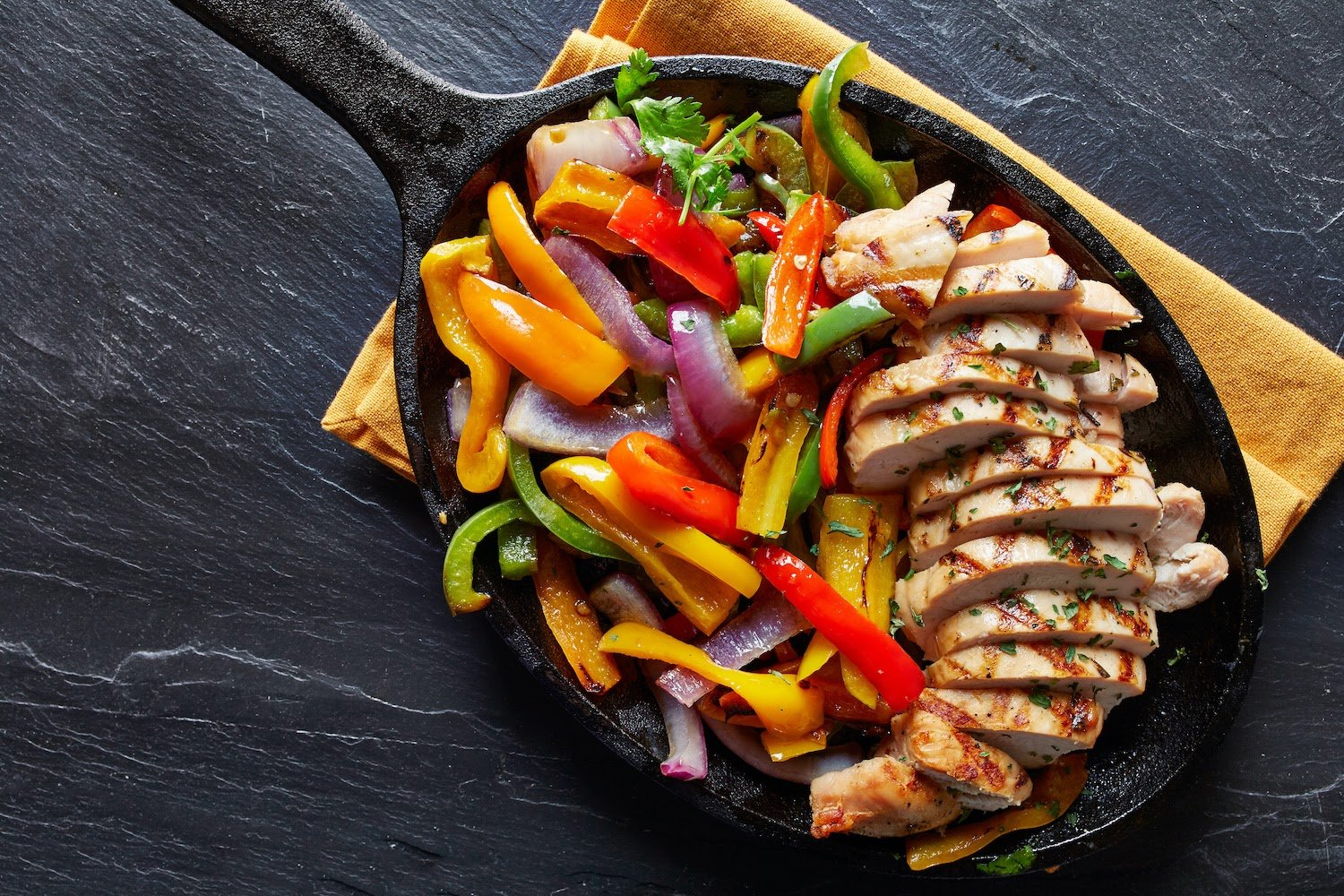 Low Histamine Diet: Mexican grilled chicken on the slate