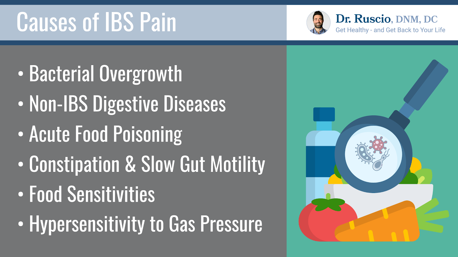 List of IBS pain causes