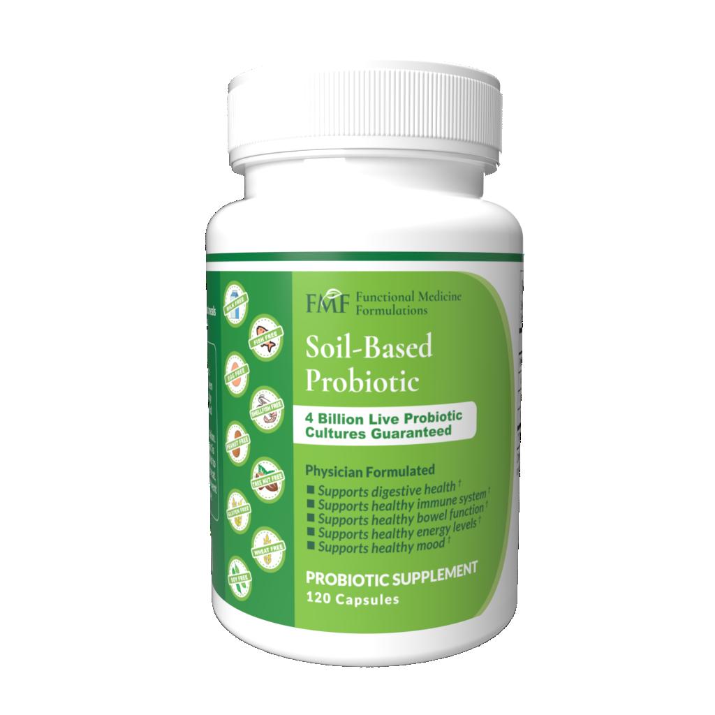 FMF Soil-based probiotic supplements in a bottle